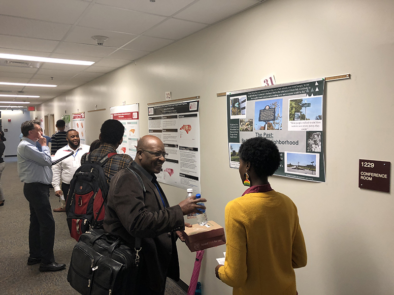 North Carolina Geographical Society Annual Meeting, NCCU, November 2018